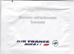 Refreshing Towel Air Francde Lingette - Reclame