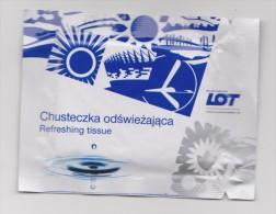 Refreshing Towel LOT Lingette - Reclame