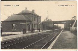 02398g GARE - De STATIE - Linkebeek - Relais - Linkebeek