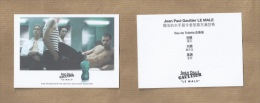 Carte Parfumée Perfume Card LE MALE * GAULTIER * Japon *** 1 EX - Cartes Parfumées
