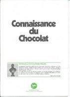 """Dossier """"CONNAISSANCE Du CHOCOLAT """" Chocolaterie Poulain - Chocolate"""