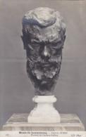 Cpa,paris,musée Du Luxembourg,AUGUSTE RODIN,portrait De Gustave Geffroy,sculpture,art,tete,rare - Musées