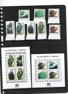 ZIMBABWE ,2012,DEFINITIVES,SCULPTURES, 8v+2  S/SS, MNH - Beeldhouwkunst
