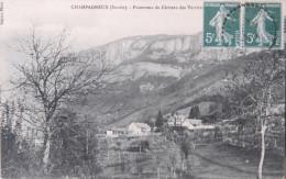 *73 - CHAMPAGNEUX - CPA - Panorama Du Château Des Verrières - Autres Communes