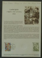 """COLLECTION HISTORIQUE DU TIMBRE - 1989 - YT N°2606 - LAPICQUE, """"Régates Vent Arrière"""" - DIJON - 1980-1989"""