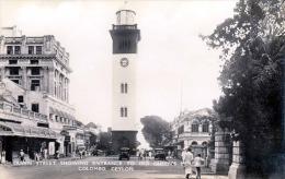 COLOMBO (Ceylon) Queen Street Showing Entrance To Old Queen's House, Fotokarte Um 1935, Copyright By Platè Ceylon - Sri Lanka (Ceylon)