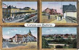 Gruss aus BEBRA - Karte als Feldpost gelaufen 1918, Stempel Bebra, Verlag Carl Jagemann Eisenach