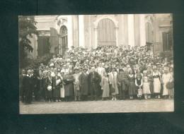 Austria - Carte Photo Groupe Souvenir Visite à MELK ( 1936 Photo Prasser) - Melk