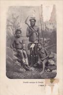 Nouvelles-Calédonie - Famille Canaque à Ouénia - Nouvelle-Calédonie