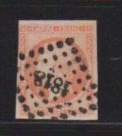 40 Centimes Orange  //  N 16   // Cachet 1818  //   Lyon - 1853-1860 Napoléon III