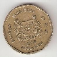 Singapore  1  Dollar  1995  Km 103   Xf+ - Singapour