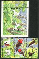 Oiseaux Des ILES MARSHALL (frégate,fou Brun,sternes,oiseaux Des Tropiques,etc) 7 T-p Neufs **. Côte 20.00 € - Parrots