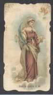 7193-SANTA LUCIA V.M.-SANTINO-HOLY CARD-CROMOLITO - Santini
