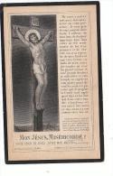 Jean-Michel SCHMETZ (Madeleine Schmetz) Conseiller Provincial Bourgmestre Moresnet Membre Inspection Asile Ruyff 1904 - Devotion Images