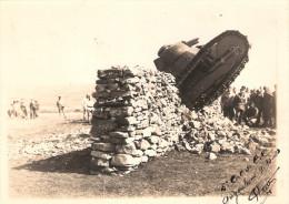 PHOTO ANGOULEME 1920 ECOLE CHAR COMBAT BCC TANK BLINDE RENAULT FT17 PILOTE ARTILLERIE SPECIALE