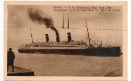 Antwerpen - Red Star Line, SS Belgenland - Antwerpen
