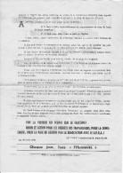 Tract Politique P.C.F Avril 1961 Bon Etat - Documents Historiques