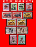 532/544**- CONGO - République Du Congo (1960-64)