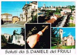M1967 Saluti Da San Daniele Del Friuli (Udine) - Vedute - Multipla / Non Viaggiata - Other Cities