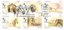 2000-ED. 3723A A 3728A H.B.-CABALLOS CARTUJANOS ESPAÑA 2000-MAT. 1er. DIA - Blocks & Kleinbögen