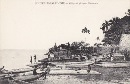 Océanie -  Nouvelle Calédonie -  Village Canaque - Pêche - New Caledonia