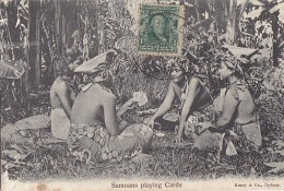 Océanie -  / Samoa / Samoans Playing Cards / Jeu De Cartes / Postal Mark Pago Pago - Samoa