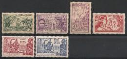 Réunion. 1931-1939. Entre N° 119 Et 157.  Oblit. Et Neuf * - Réunion (1852-1975)