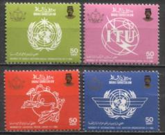 Brunei - Mi-Nr 335/338 Postfrisch / MNH ** (K368) - Brunei (1984-...)