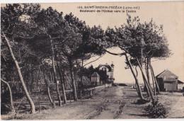 44 - Saint-Brevin-l'Ocean Boulevard De L'ocean Vers Le Casino - France