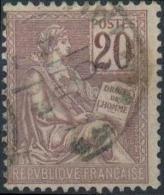 FRANCE 113 (o) Mouchon Type II (CV 10 €) Voir Cachet 5 - 1900-02 Mouchon