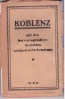 Koblenz - Carnet 15 CP (complet) 3 Scans - Koblenz