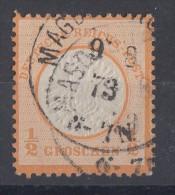 DR Minr.18 Gestempelt Magdeburg 9.8.73 - Gebraucht