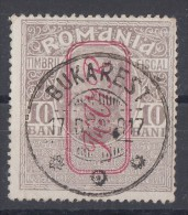M.v.i.R Zwangszuschlagmarke Minr.6 Gestempelt - Occupation 1914-18