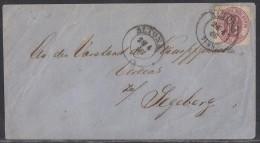 Holstein Brief EF Minr.22 Altona 28.4.66 Bpst. Ansehen !!!!!!!!!!!!!!! - Schleswig-Holstein