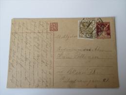 Tschechoslowakei 1920 Ganzsache P 24 Marienbad Mit Zusatzfrankatur Nach Wien - Tschechoslowakei/CSSR