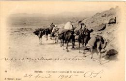 Biskra - Caravane Traversant Le Col De Sfa - Biskra