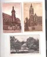 3 DREI ESSEN Germany North Rine-Westphalia  Essen Old Postcards Used STAMPS - Essen