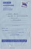 NEW ZEALAND 1965 - 9d Frankierung Auf Aerogramme Nach Holland - Luftpost