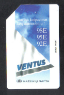 VENTUS OIL -  USED PHONECARD -  1990s - Oil