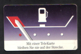GERMANY -  USED PHONECARD -  1990s - Oil