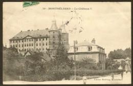 MONTBELIARD Rare Le Château N. (Helbling) Doubs (25) - Montbéliard