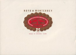 T45 CUBA TOBACCO OLD LEBEL HOYO DE MONTERREY. JOSE GENER - Labels