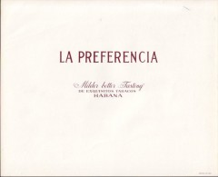 T51 CUBA TOBACCO OLD LEBEL LA PREFERENCIA - Labels