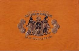 T55 CUBA TOBACCO OLD LEBEL TABACO. LA FLOR DE MORALES. JOSE MORALES Y Co. - Labels