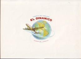 """T61 CUBA TOBACCO OLD LEBEL TABACO """"EL DINAMICO"""" - Labels"""