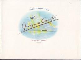 T70 CUBA TOBACCO OLD LEBEL TABACO. JOAQUIN CUESTA - Labels