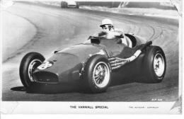 British Grand Prix 1955  -  Vanwall  -  Harry Schell   -   Valentine´s Postcard - Grand Prix / F1
