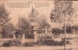 Ouffet Munument Commémoratif édifiepar Décision Du Consell Communal D'Ouffet - Ouffet