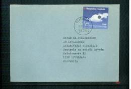 Kroatien / Croatia 1999 Meteorology - Ozon Day On Letter - Klima & Meteorologie
