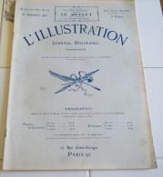 L´ILLUSTRATION 30 S.1922- CONSTANTINOPLE-EVACUATION  INCENDIE DE SMYRNE-JERUSALEM- TRONDHJEM-BIARRITZ-MORT-HOMME-VIENNE - Journaux - Quotidiens